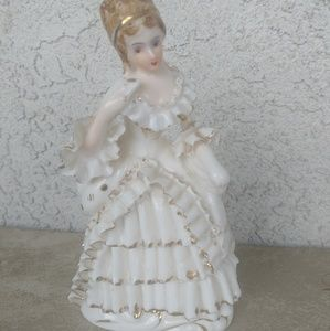 Vintage Relco Victorian Lady Bone China Japan